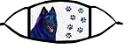 Belgian Sheepdog Groovy face mask